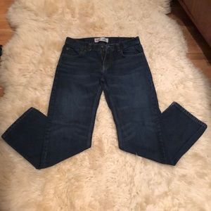 Boy's dark blue Levi's jeans